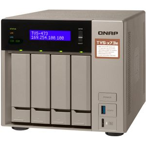 Qnap TVS-473e-8G 4-Bay 12TB Bundle mit 3x 4TB IronWolf ST4000VN008