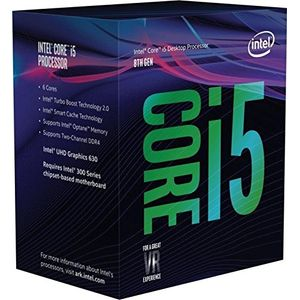Intel Core i5-8600, 6x 3.10GHz, boxed (BX80684I58600)
