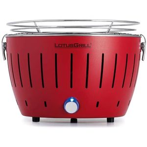 LotusGrill G 280 Modell 2019 Holzkohlegrill, Feuerrot, 23,4 x 35 x 35 cm