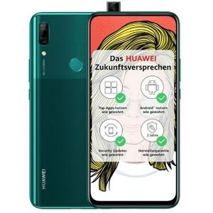 Huawei P smart Z Smartphone 16,74cm (6,59 Zoll) TFT, LCD-Display, 64GB interner Speicher, 4GB RAM, Dual-SIM, Android, Emerald Green
