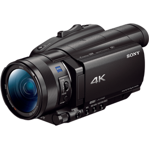 "Sony FDR-AX700 4K HDR Ultra-HD-Camcorder (1 Zoll Exmor RS Stacked Sensor, 3,5"" Touch-Display, 4K HDR Aufnahme, Fast-Hybrid Autofokus mit 273 Fokuspunkten, 40-Fach Super-Slow-Motion) schwarz"