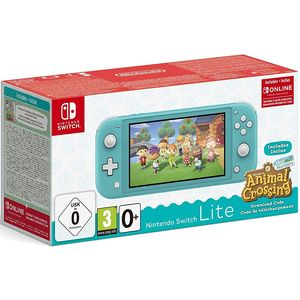 Nintendo Switch Lite Türkis 32GB inkl. Animal Crossing: New Horizons