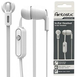 Fontastic Essential Essential In-Ear Stereo-Headset weiß (210655)