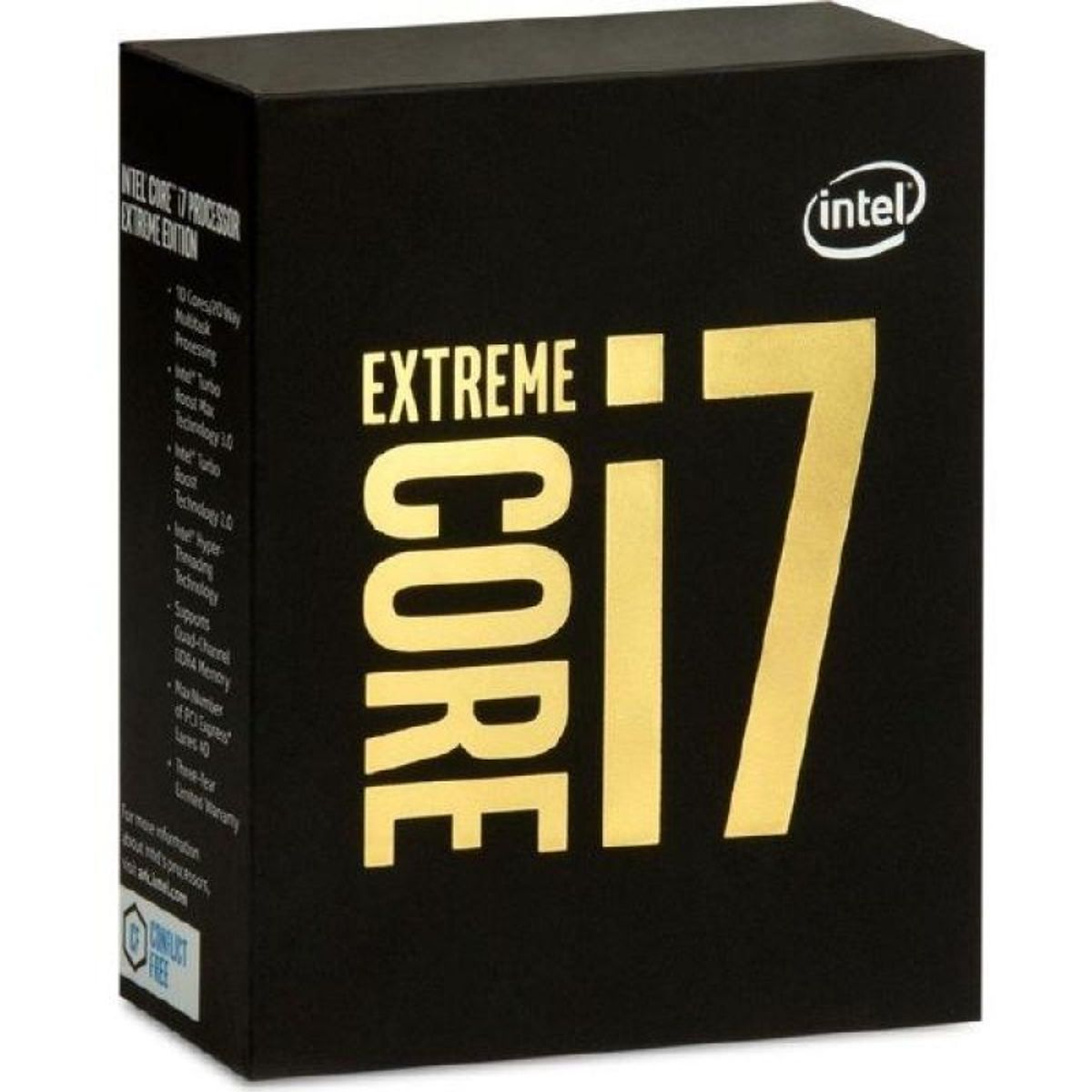 Intel Core i7-6950X Extreme Edition, 10x 3.00GHz, boxed ohne Kühler (BX80671I76950X)