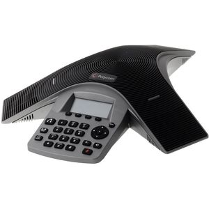 POLYCOM Soundstation Duo dual Mode Conference Phone Including Power Supply Power Cord with EE 7-7 Plug Power Injection Module