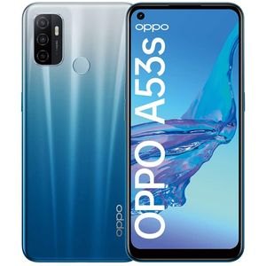 Oppo A53s Smartphone 16,51cm (6,5 Zoll) IPS-Display, 128GB interner Speicher, 4GB RAM, Dual-SIM, Fancy Blue