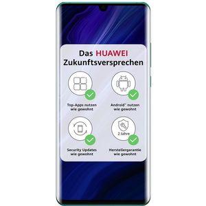 Huawei P30 Pro New Edition Smartphone 16,43cm (6,47 Zoll) OLED-Display, 256GB interner Speicher, 8GB RAM, Dual-SIM, Android, Aurora