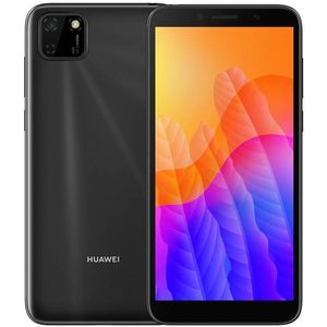 Huawei Y5p Smartphone 13,84 cm (5,45 Zoll) IPS-Display, 32GB interner Speicher, 2GB RAM, Dual-SIM, Android, Midnight Black