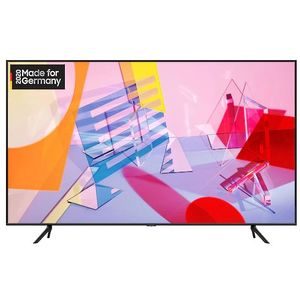 Samsung GQ65Q60T 164 cm (65 Zoll) QLED-Technologie (Ultra HD, HDR) HD-Triple-Tuner (Sat, Antenne, Kabel) Smart TV Modelljahr 2020 Energieklasse A+ (Deutsche Version)