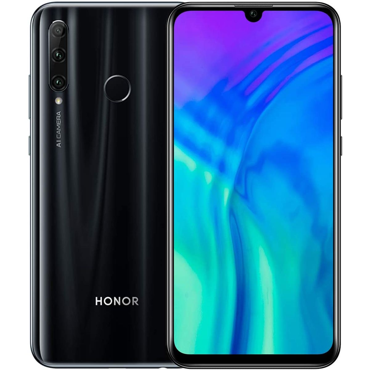 Honor 20E Smartphone Midnight Black