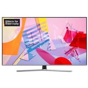 Samsung GQ43Q65TGU 108 cm (43 Zoll) QLED-Technologie (Ultra HD, HDR) HD-Triple-Tuner (Sat, Antenne, Kabel) Smart TV Modelljahr 2020 Energieklasse A (Deutsche Version)
