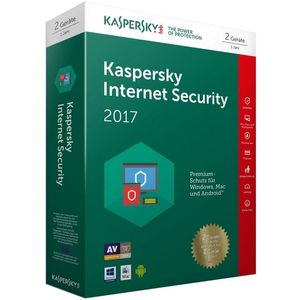 Kaspersky Internet Security 2017 Limited Edition (2 Geräte, 1 Jahr) (PC)