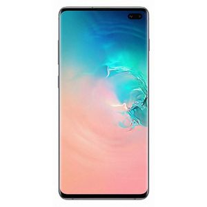 Samsung Galaxy S10+ Smartphone 16,26cm (6,4 Zoll) Super AMOLED-Display, 128GB interner Speicher, 8GB RAM, Dual-SIM, Android, Prism White