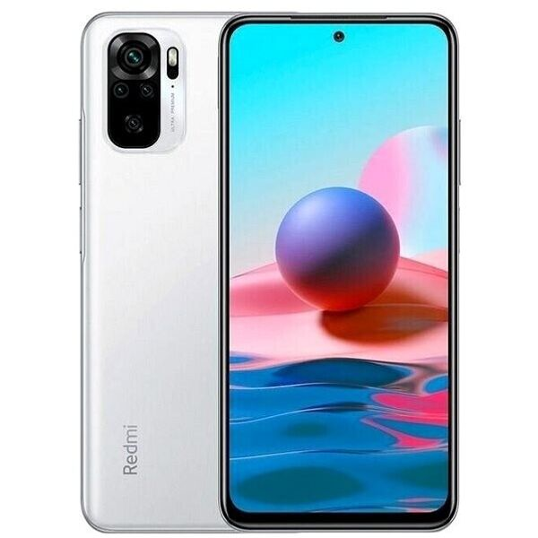 Xiaomi Note 10S Smartphone 16,3cm Pixel (6,43 Zoll) AMOLED-Display, 64GB interner Speicher, 6GB RAM, Dual-SIM, Android 11, Pebble White