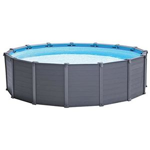 Intex Graphite Panel Pool 478x124cm + Sandfilter 26382