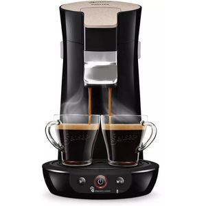 Philips Senseo Viva Cafe Eco HD6562-32 Kaffeepadmaschine - Limited Edition mit 80 Pads , schwarz