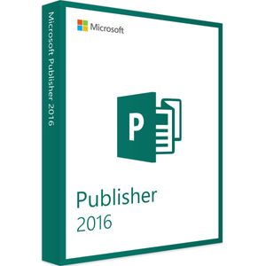 Microsoft Publisher 2016 - 32&64Bit - USB-Stick - 1PC