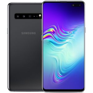 Samsung Galaxy S10 5G Smartphone 15,49cm (6,1 Zoll) AMOLED-Display, 256GB interner Speicher, 8GB RAM, Single-SIM, Android, Majestic Black
