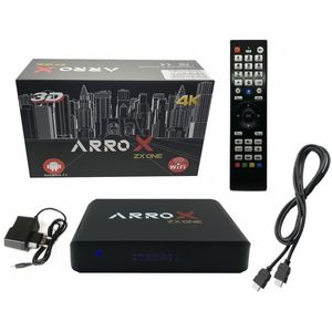 Arrox ZX One IPTV Receiver 3D Android 7.1 Streaming Box