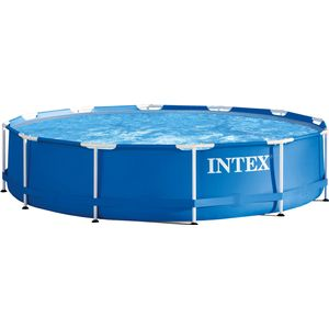 Intex Aufstellpool Frame Pool Set Rondo