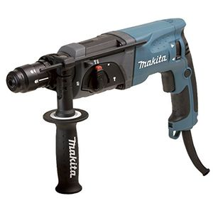 Makita HR2470FT Bohrhammer SDS-Plus, Blau, Silber
