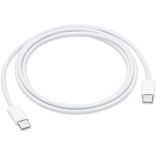 Apple MUF72ZM/A USB-C Charge Cable, geeignet für Apple iPhone/iPod/iPad, Ladekabel/Datenkabel, 1 m, weiß