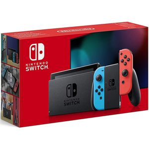 Nintendo Switch V2 Neon-Blau Neon-Rot 32GB (neues Modell 2019)