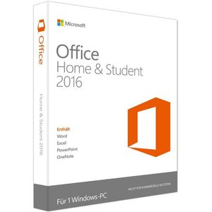 Microsoft Office 2016 Home & Student, PKC (PC)