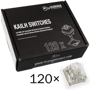Glorious PC Gaming Race Kailh Box White Switches (120 Stück)