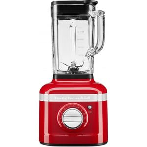KitchenAid Artisan 5KSB4026 Standmixer mit IntelliSpeed, 1200W, 1,4L Glasbehälte, Empire Rot