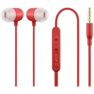 ACME HE21R In Ear Headphones with Microphone Red, 253123 RED