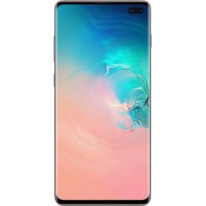 Samsung Galaxy S10+ Smartphone 16,26cm (6,4 Zoll) Super AMOLED-Display, 1TB interner Speicher, 12GB RAM, Dual-SIM, Android, Ceramic White