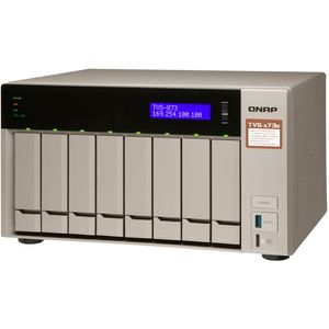 Qnap TVS-873e-4G 8-Bay 9TB Bundle mit 3x 3TB IronWolf ST3000VN007