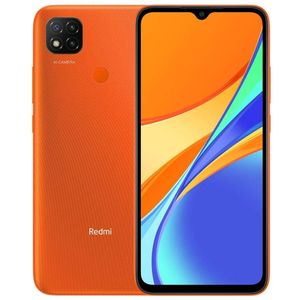 Xiaomi Redmi 9C Smartphone 16,59cm (6,54 Zoll) IPS-Display, 64GB interner Speicher, 3GB RAM, Dual-SIM, Android, Sunrise Orange