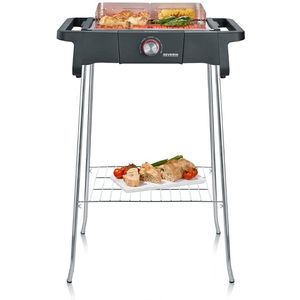 Severin Standgrill Style Evo S PG 8124 sw, PG8124 Elektrogrill