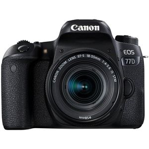 Canon EOS 77D Kit schwarz inkl. EF-S 18-55mm IS STM