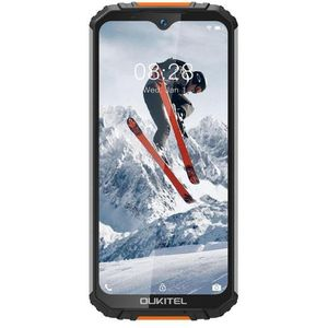OUKITEL WP6 Smartphone Farbdisplay, 128GB interner Speicher, 6GB RAM, Dual-SIM, Orange
