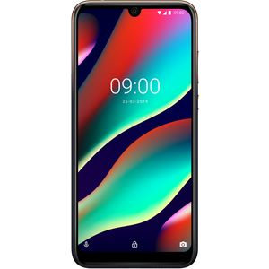 WIKO VIEW3 PRO Smartphone, 64GB + 4GB, 6,3 Zoll (16cm), FHD+ Display, Triple-Kamera, 4000 mAh Akku, Schnellladen, Dual-SIM, Android 9.0 Pei, Anthracite Blue-Gold