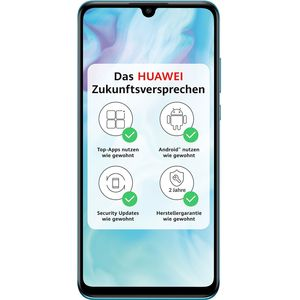 Huawei P30 lite Smartphone 15,62cm (6,15 Zoll) LTPS-Display, 128GB interner Speicher, 4GB RAM, Dual-SIM, Android, Breathing Crystal