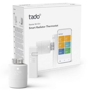 tado° Smartes Heizkörper-Thermostat Starter Set V3+ inkl. Internet Bridge