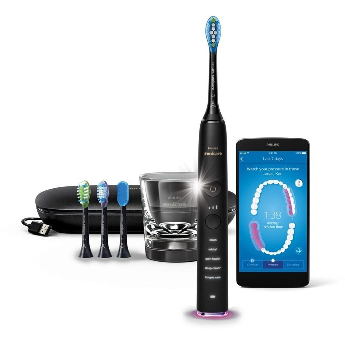 Philips Sonicare HX9924/13 DiamondClean Smart black
