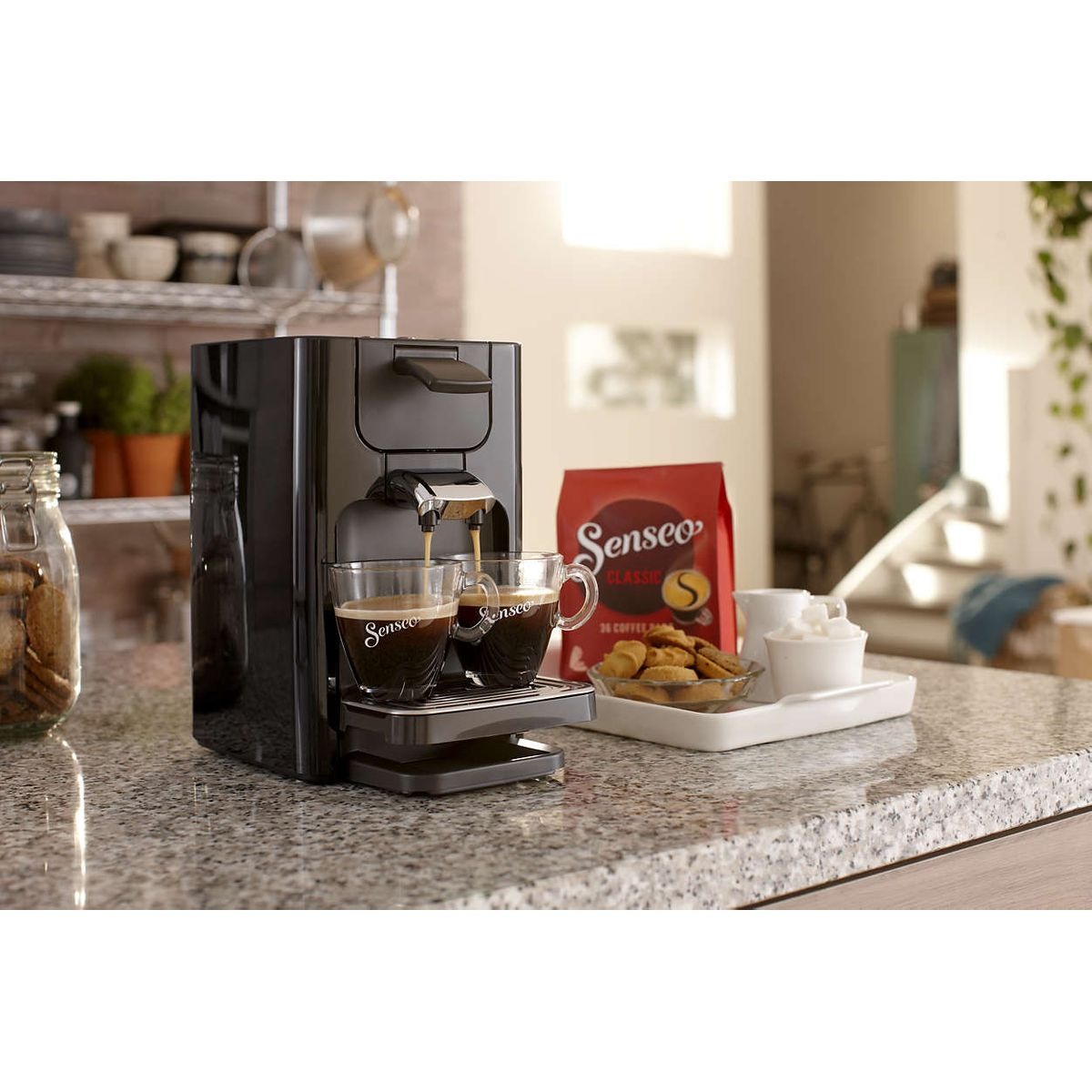 Philips HD7865-60 Senseo Quadrante Kaffeepadmaschine