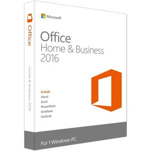 Microsoft Office 2016 Home & Business, PKC (PC)