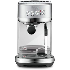 Sage Appliances SES500BSS4EEU1 SES500 The Bambino Plus Espressomaschine, Gebürstetes Edelstahl