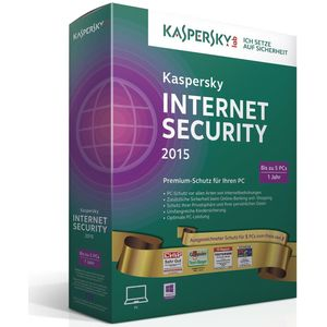Kaspersky Internet Security 2015 Gold Edition (PC)
