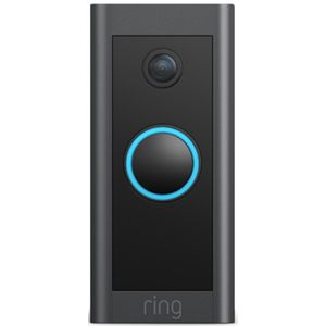 Ring Video Doorbell Wired WiFi black