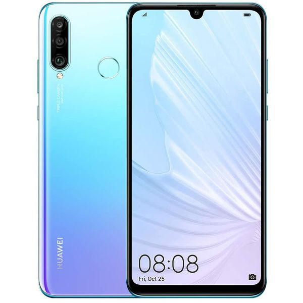 Huawei P30 lite New Edition Smartphone 15,62cm (6,15 Zoll) LTPS-Display, 256GB interner Speicher, 6GB RAM, Dual-SIM, Android 9 (Pie), EMUI 9.0.1, Breathing Crystal