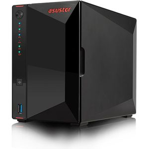 Asustor AS5202T 2-Bay 4TB Bundle mit 2x 2TB Red WD20EFAX