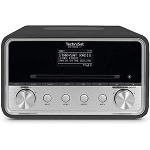 TSAT DigitRadio 585 anthrazit DAB+/UKW/Internetradio mit CD-Player SpotifyFree
