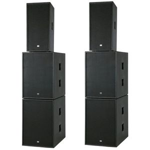 DAP Club Mate III, 3.600 Watt aktives Komplettsystem Subwoofer - 1200 Watt - schwarz